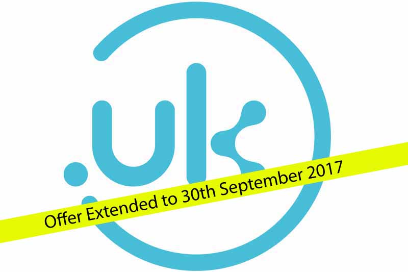 Free reserved .uk domain promotion extended