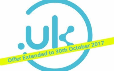 October Free .uk Domain Offer