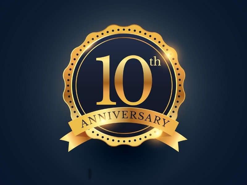 10 Year Anniversary Hosting Sale